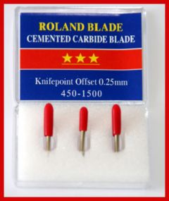 Roland Carbide 45 Degree Blades Type